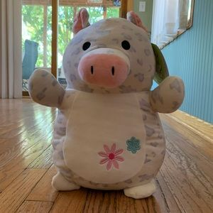 """NWT *REESE* 14"""" Squishmallows HugMees Pig"""